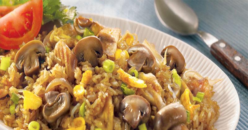 Sarapan Sehat Tidak Harus Ribet, Bikin Nasi Goreng Jamur Yuk